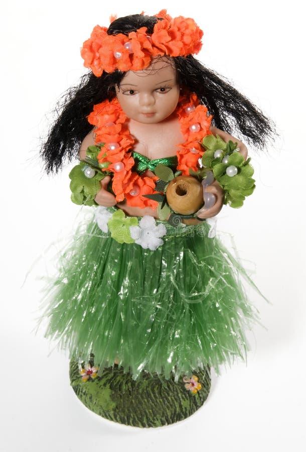 Poupée hawaïenne de Hula photos stock