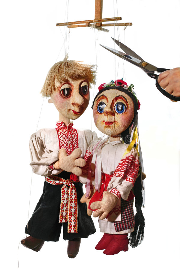 poupées photo stock