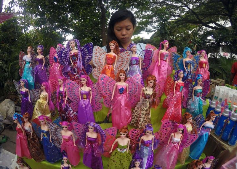 Poupées de Barbie image stock