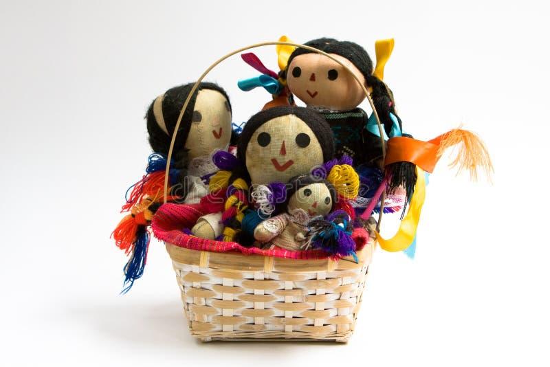 poupées de panier photos libres de droits