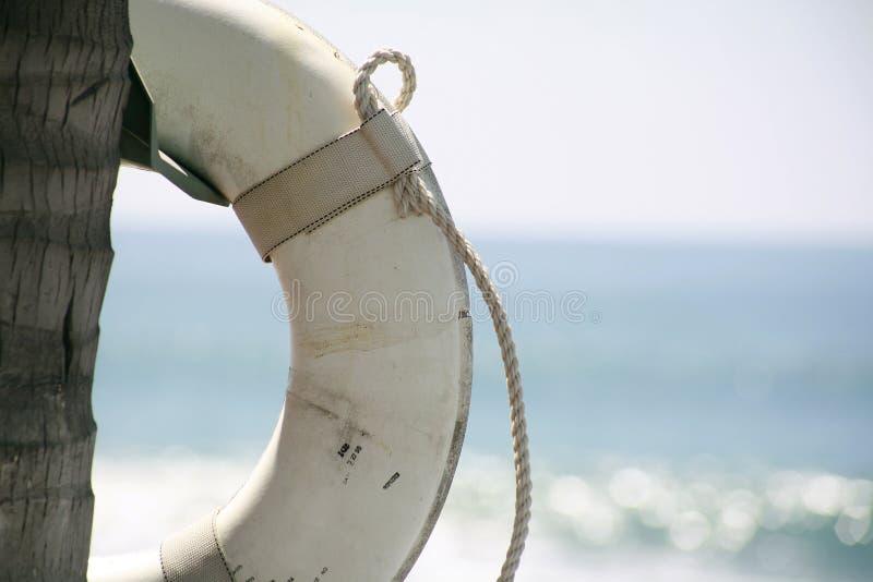 Poupança da vida da praia imagens de stock