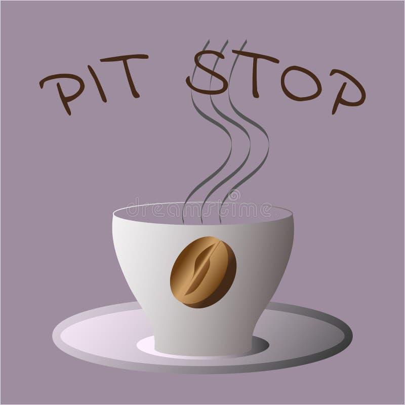 Pour boire du café, temps de pause café dans le bureau lumineux photo libre de droits