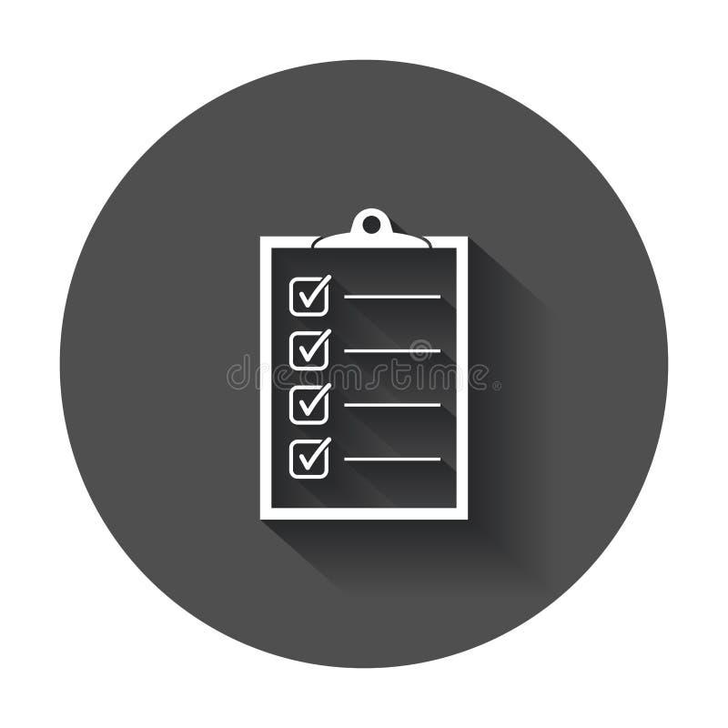 pour faire l'icône de liste illustration stock