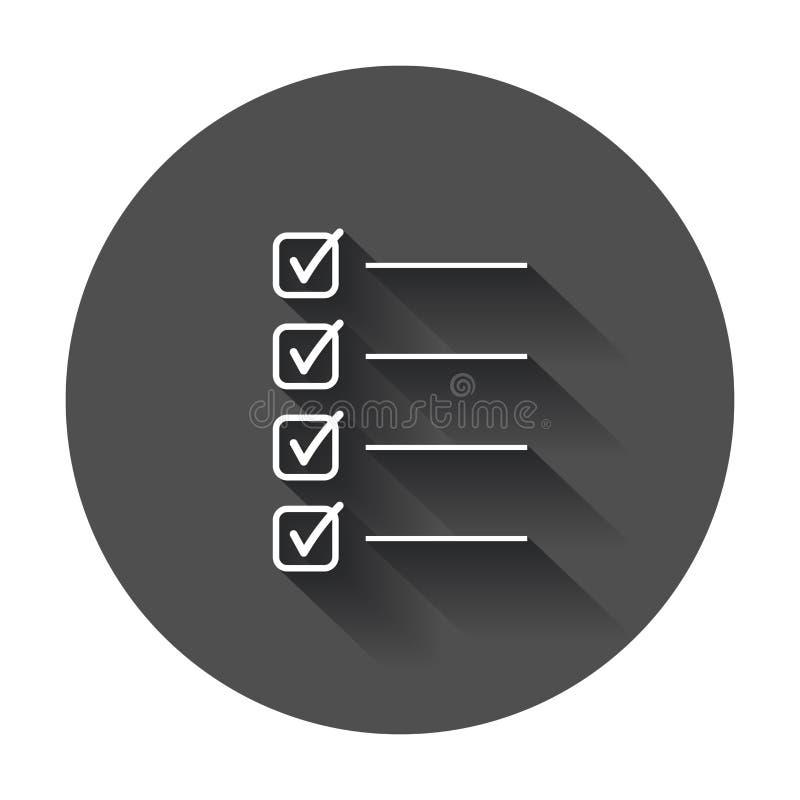 pour faire l'icône de liste illustration libre de droits