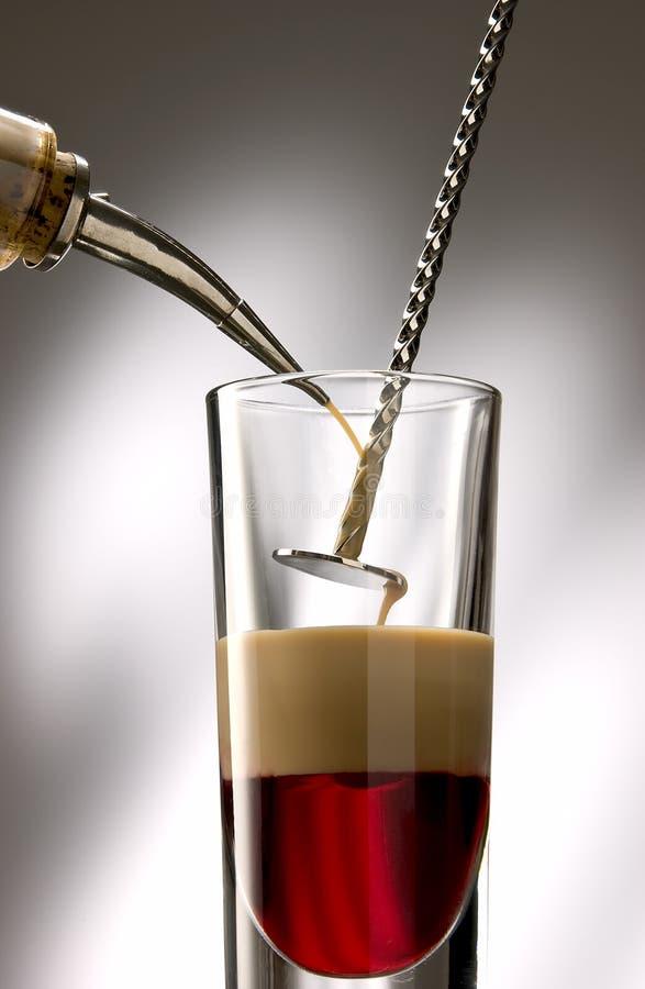 Pour Liquid Stock Image