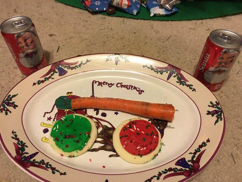 Pour Santa image stock