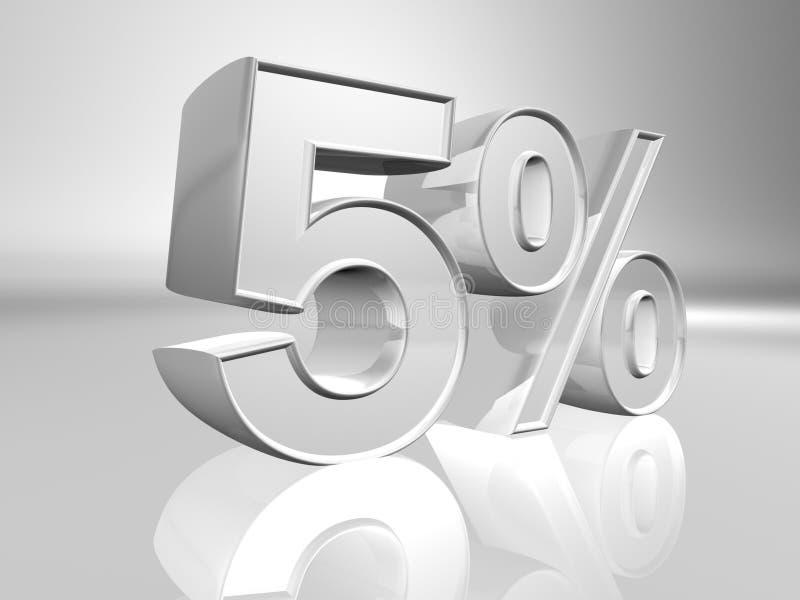 Pourcentage illustration de vecteur