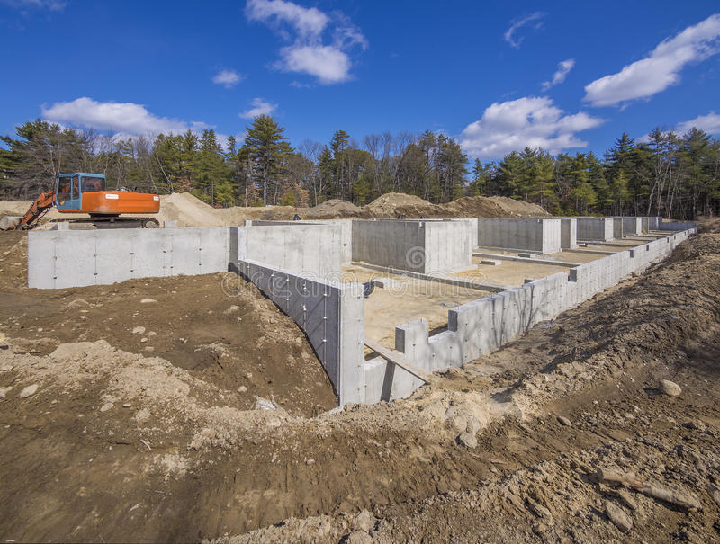 Download New House Foundation Construction Stock Photo - Image: 29902294