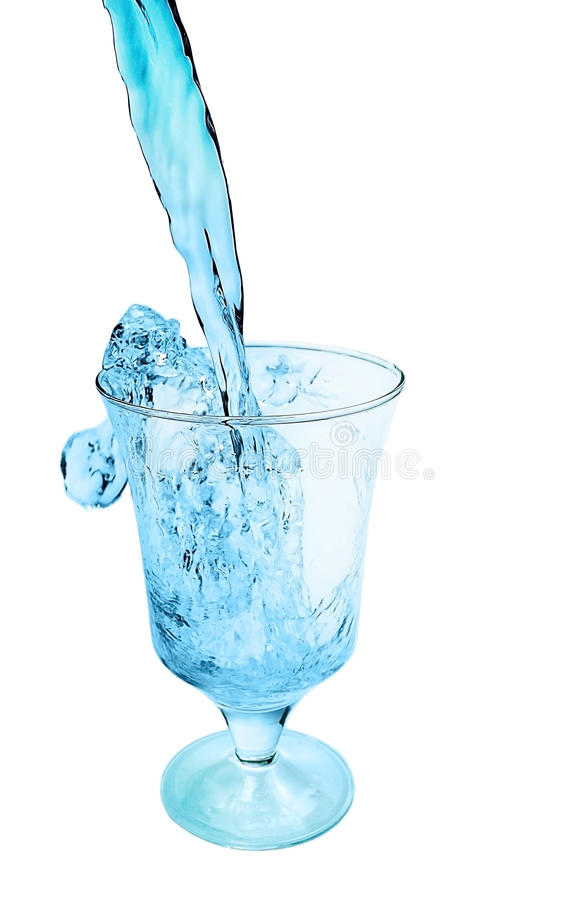 Download Poured Into A Glass Of Clean Water Royalty Free Stock Photos - Image: 29786688