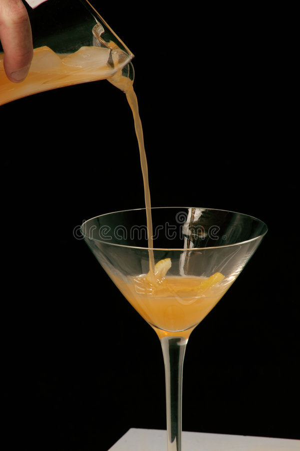 Download Pouring cocktail stock image. Image of slice, toast, flow - 140487