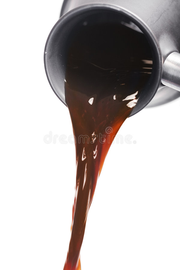 Free Pouring Coffee Royalty Free Stock Images - 6371589