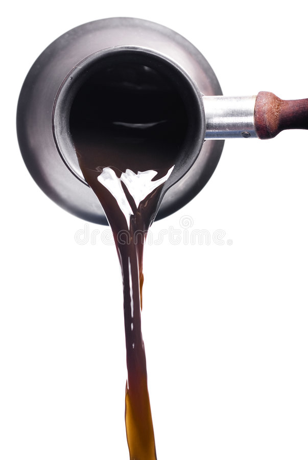 Free Pouring Coffee Royalty Free Stock Photo - 7519615