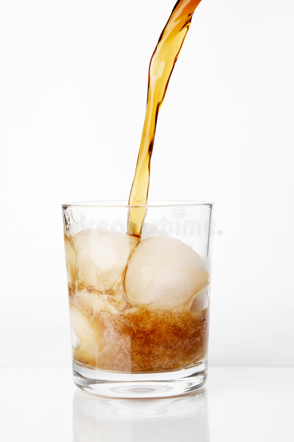 Free Pouring Cola Stock Image - 10477311