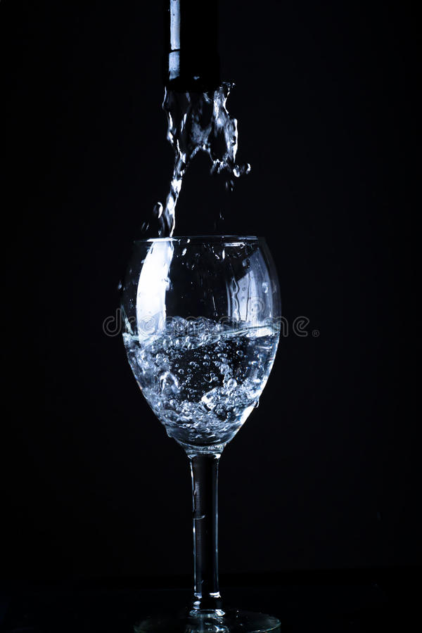 Download Pouring fresh water stock photo. Image of droplets, blubber - 23007394