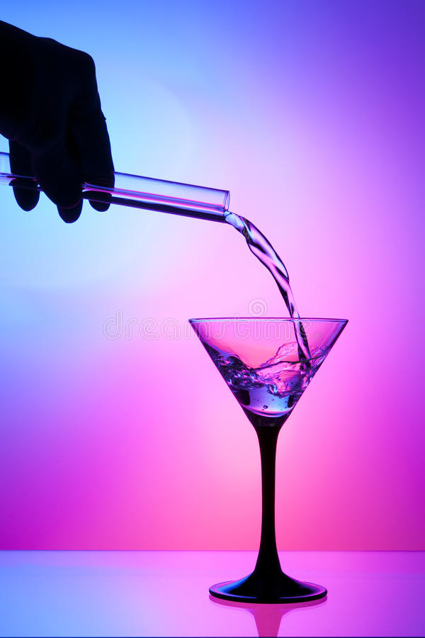 Download Pouring Liquid From A Test Tube Stock Photo - Image of genetic, glass: 16954442