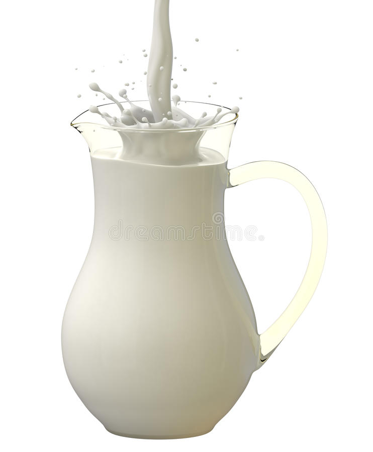 Download Pouring Milk Stock Photography - Image: 20483692