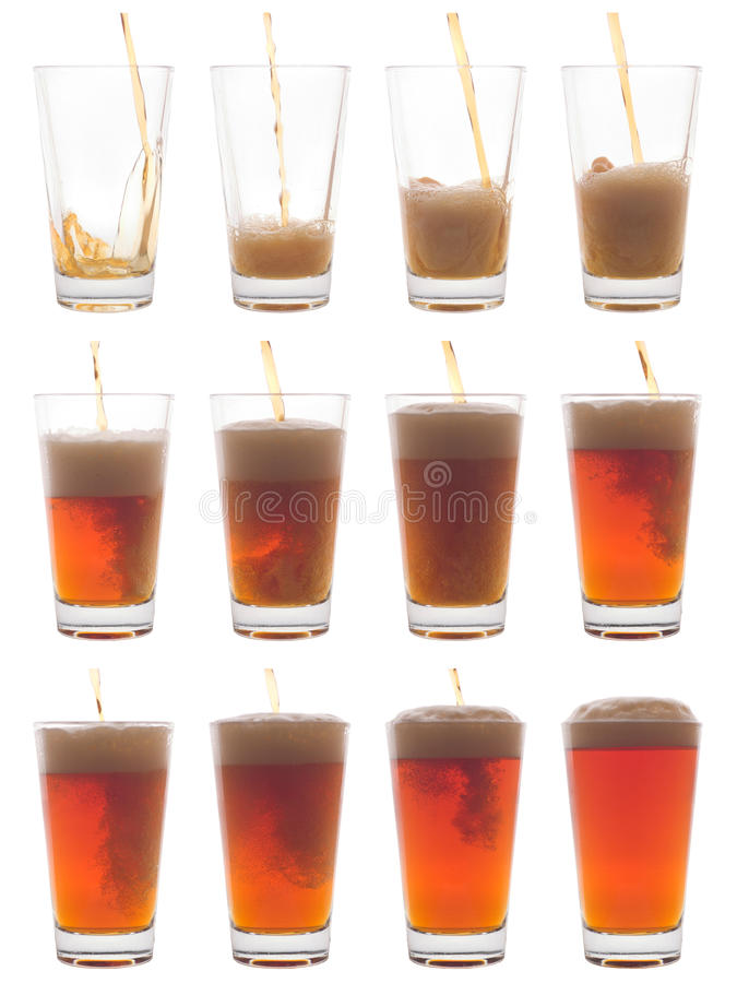 Download Pouring a pint stock image. Image of micro, glass, brew - 19086571