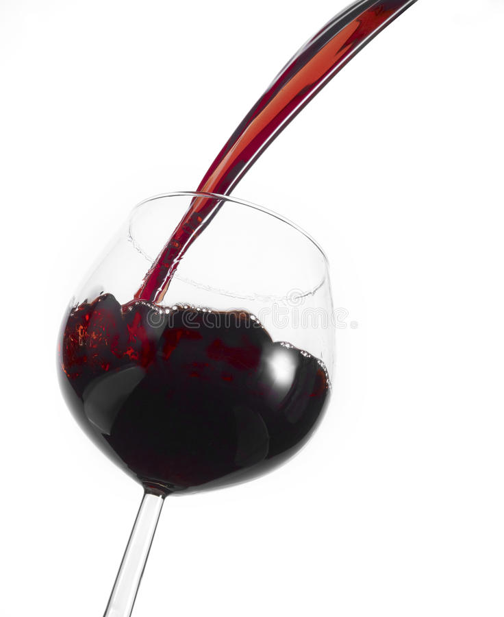 Free Pouring Red Wine Royalty Free Stock Images - 12765259