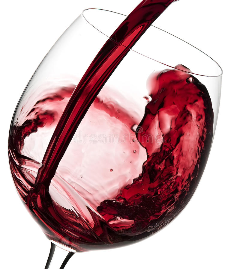 Free Pouring Red Wine Stock Photos - 19359483
