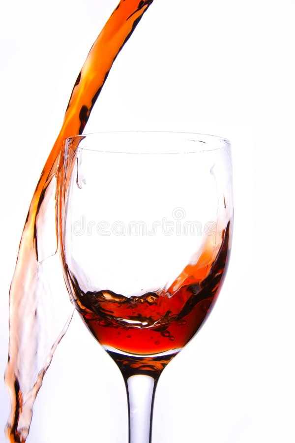 Free Pouring Red Wine Royalty Free Stock Photography - 3887217