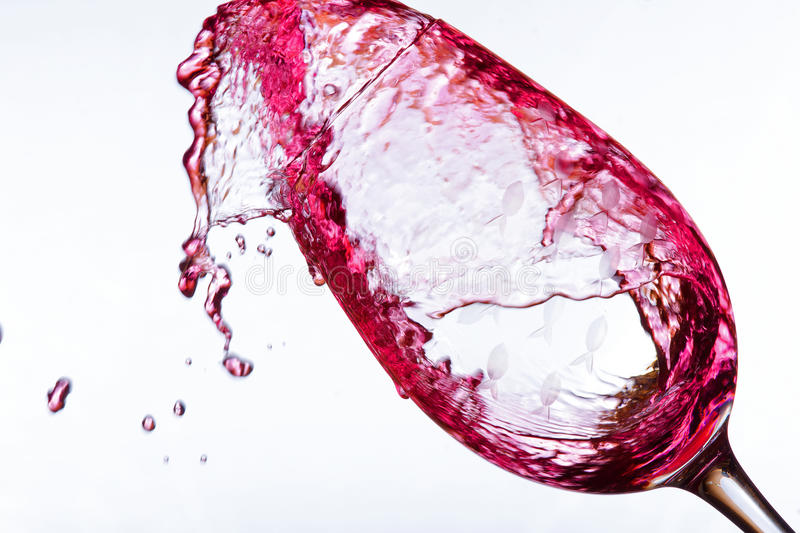 Download Pouring wine in glass stock photo. Image of pouring, round - 30045000