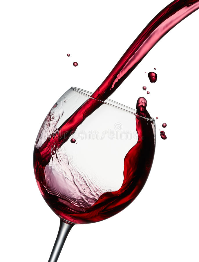 Download Pouring Red Wine Stock Photo - Image: 81067796