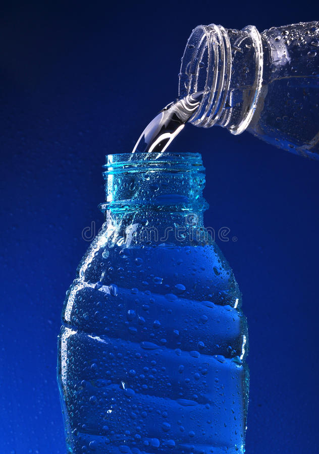 Pouring Water Stock Photography
