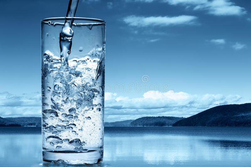 Download Pouring water stock image. Image of natural, flowing - 18851245
