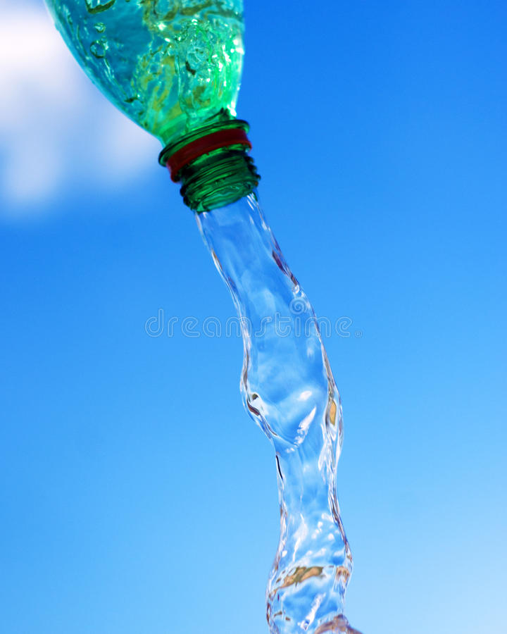 Free Pouring Water From Bottle Stock Photos - 25737853