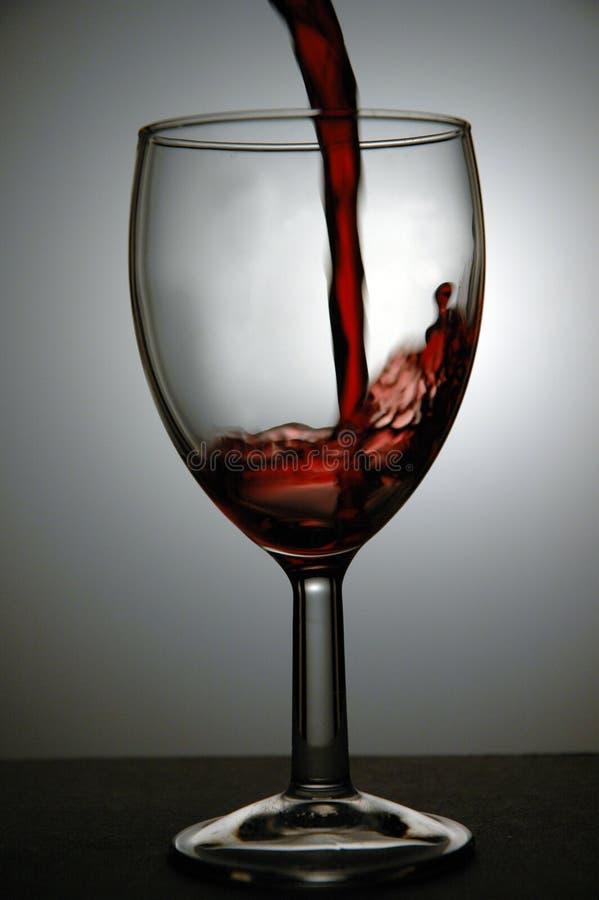 Pouring Wine. stock photo