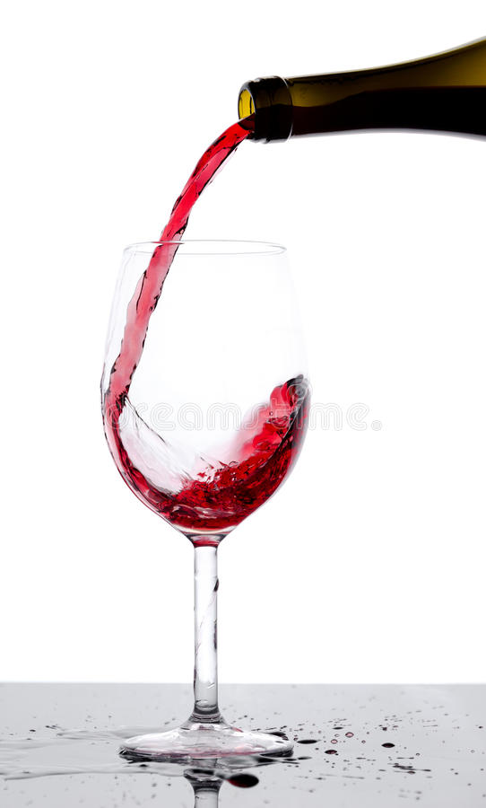 Free Pouring Wine Stock Image - 34858981