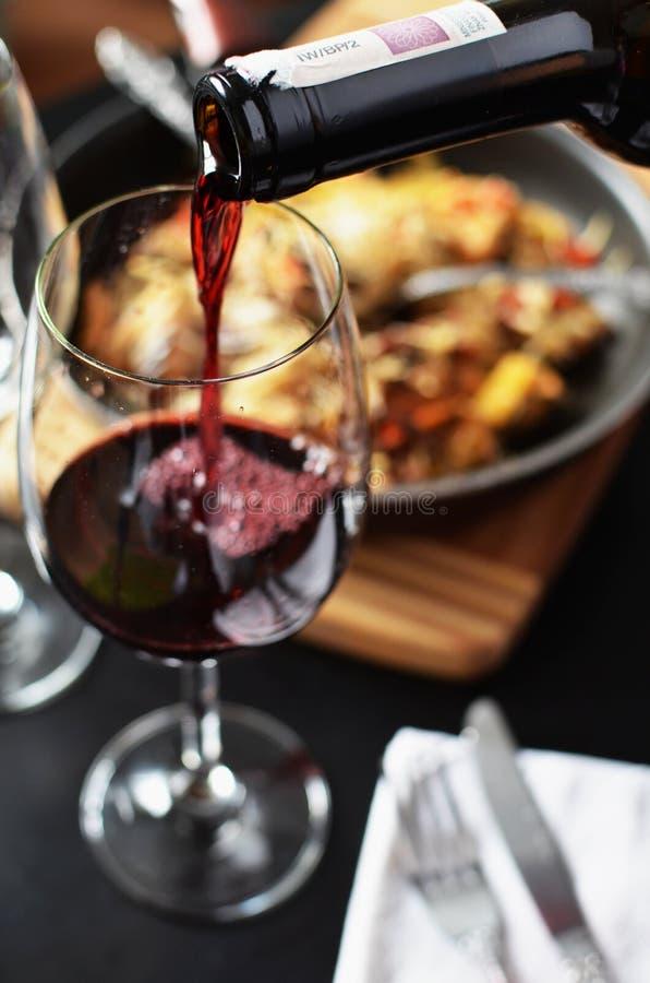Pouring Wine Into Glass Free Public Domain Cc0 Image