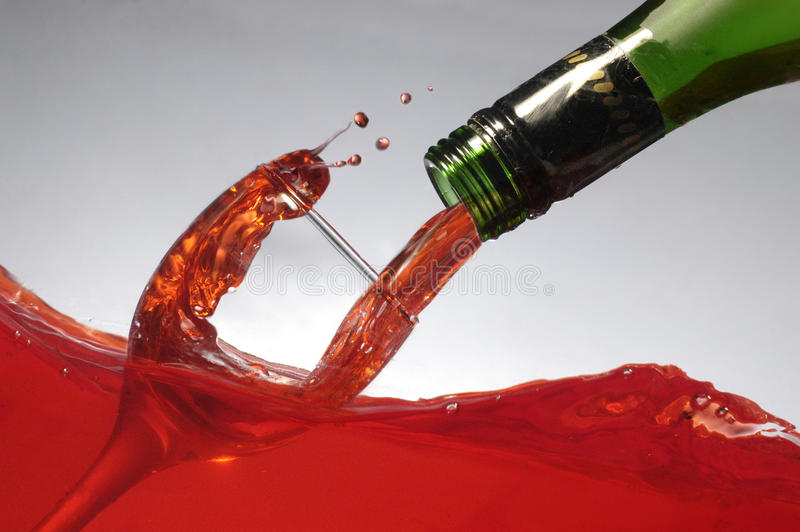 Download Pouring wine on wine stock photo. Image of celebrate - 29097010