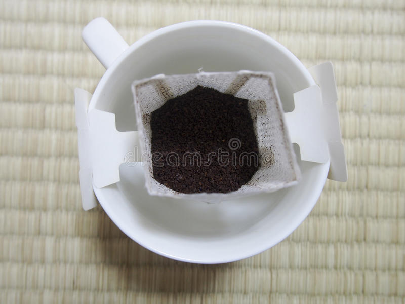 Download Pourover Coffee stock photo. Image of drink, coffee, packet - 83713364