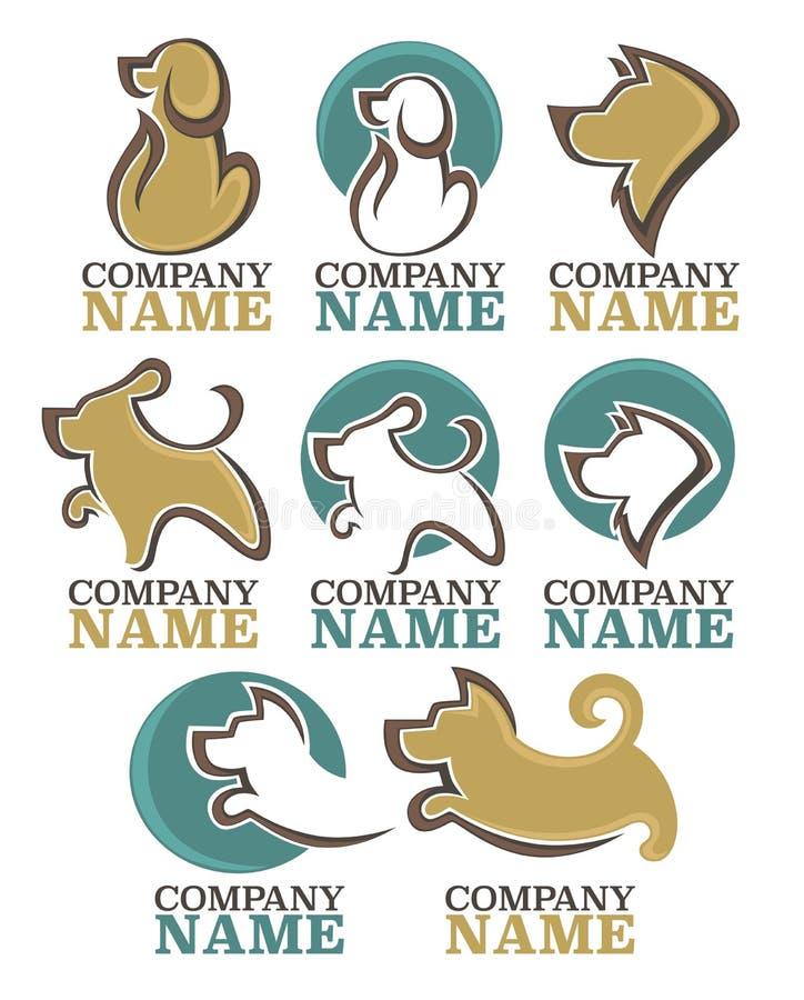 Poursuit le logo illustration libre de droits