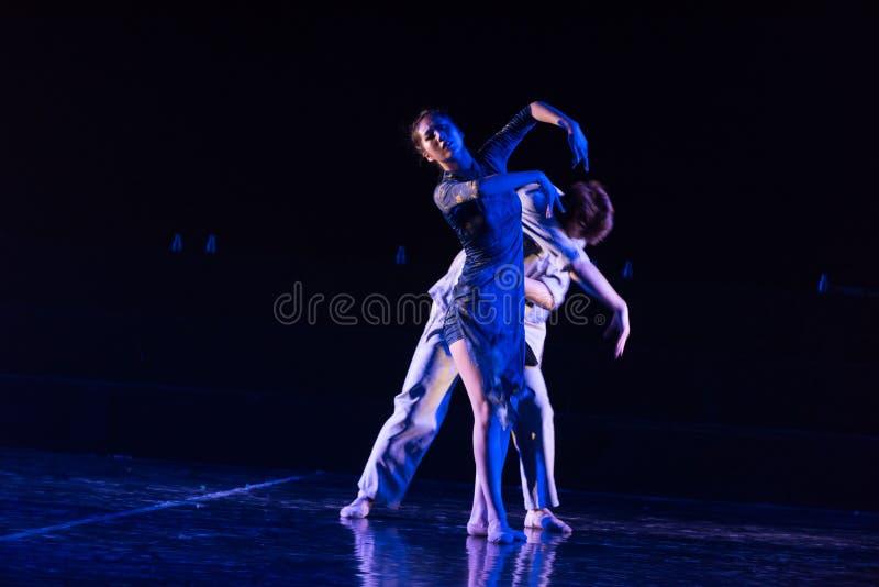 Poursuite de 4 légers--Âne de drame de danse obtenir l'eau photographie stock libre de droits