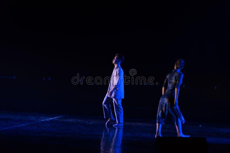 Poursuite de la lumière--Âne de drame de danse obtenir l'eau photo stock