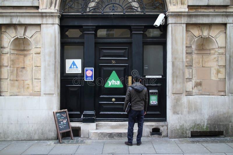 Pousada da juventude em Londres fotografia de stock royalty free