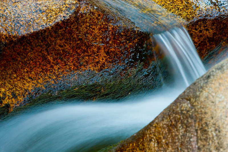 Pousse rapide de fleuve photo libre de droits