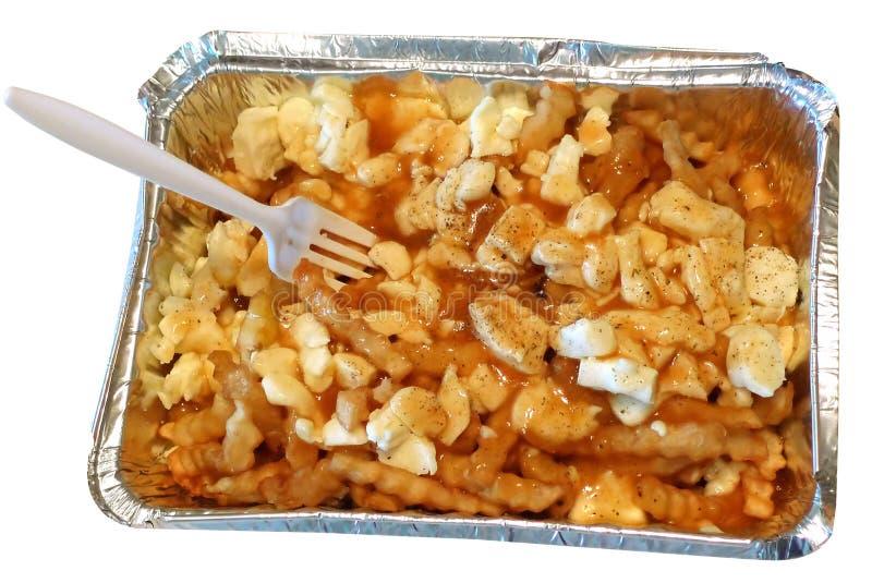 Download Poutine stock photo. Image of fries, plastic, aluminium - 24523094