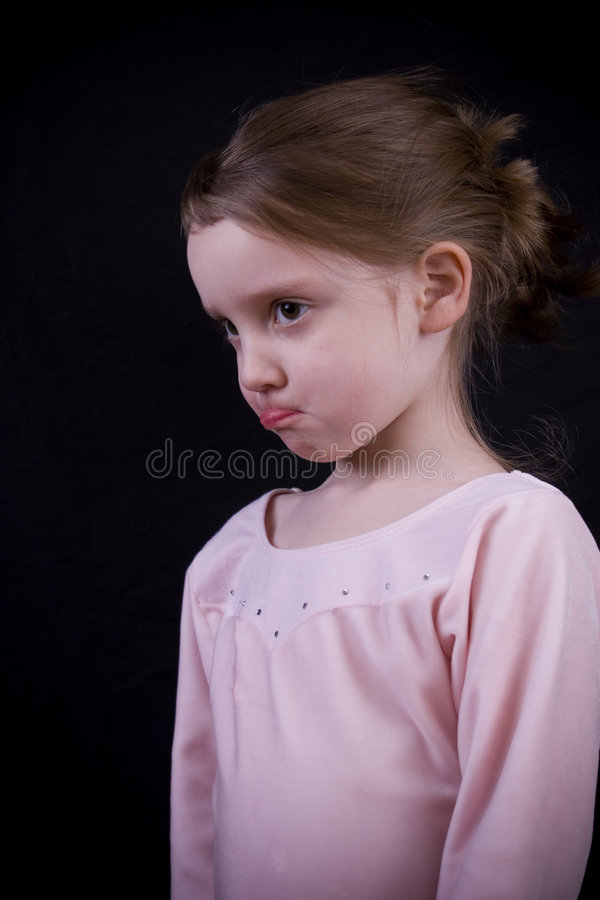 Pouting stock images