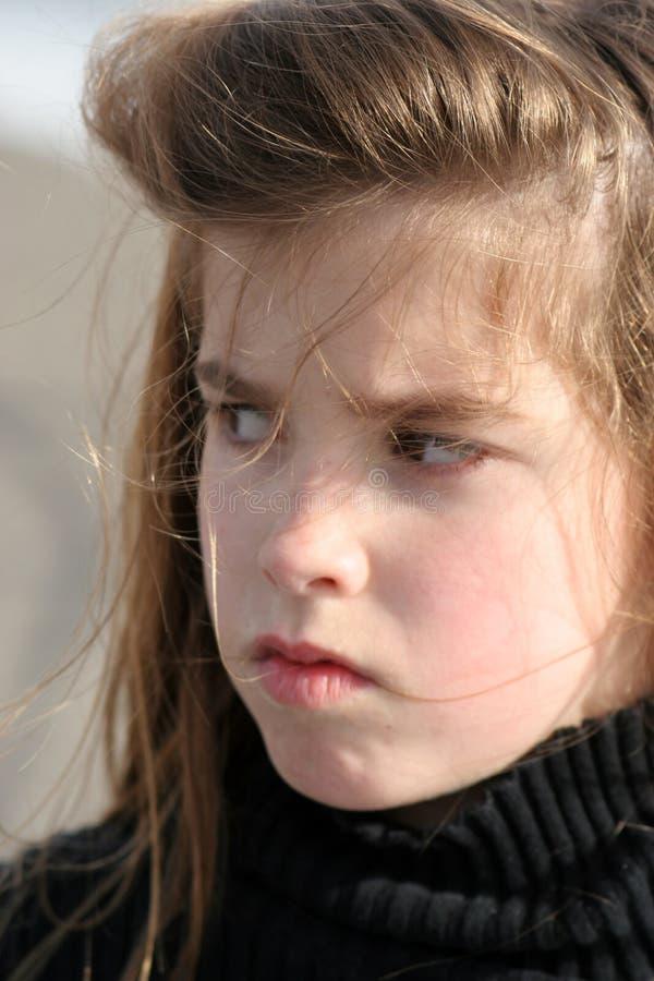 Pouting Child royalty free stock photos