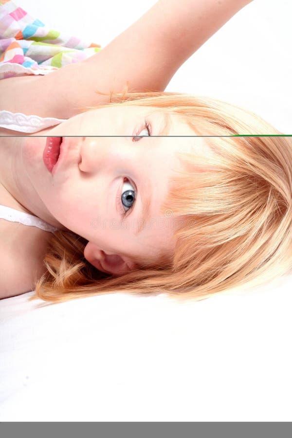 Pouting Little Girl Royalty Free Stock Photos