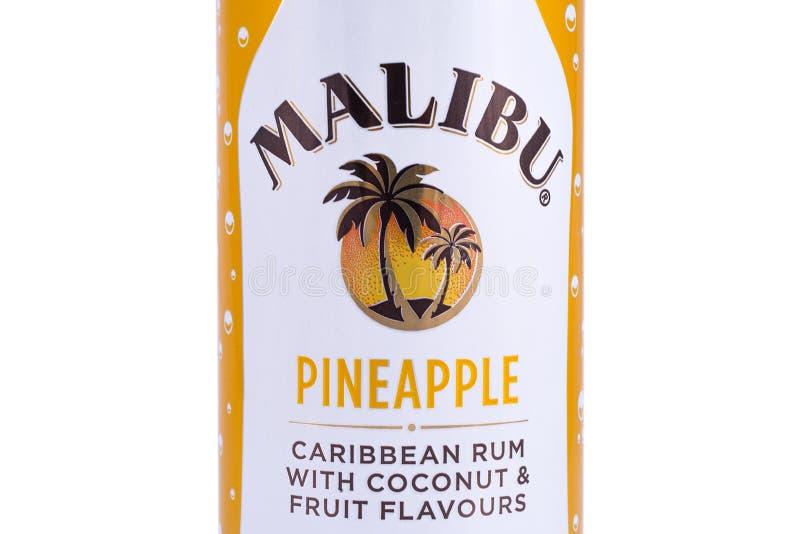 Pouvez de Malibu image stock