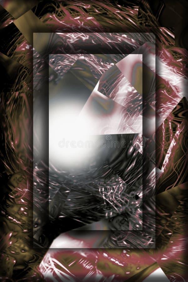 Pouvoir abstrait, lisht, substance illustration de vecteur