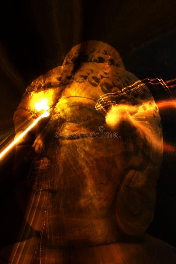 Pouvoir bouddhiste image libre de droits