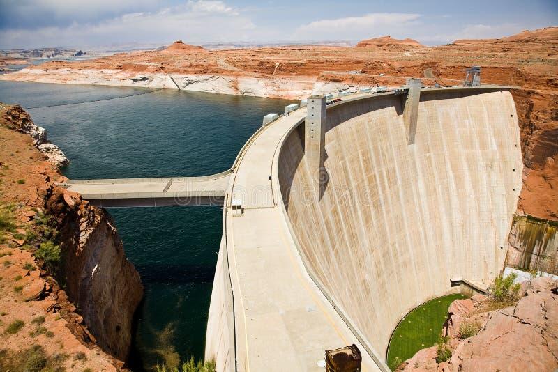 pouvoir de centrale hydro-électrique photographie stock libre de droits