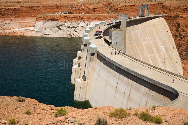pouvoir de centrale hydro-électrique images stock