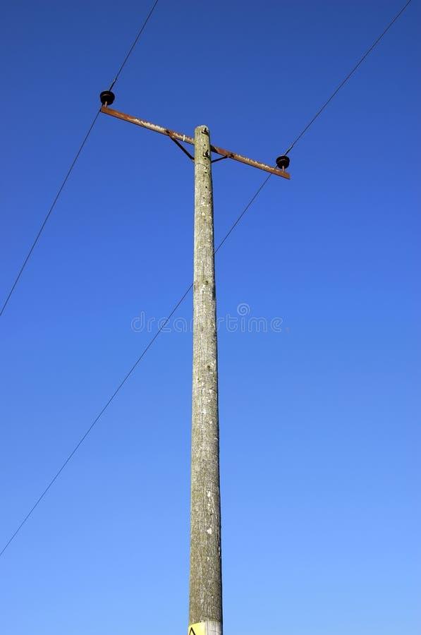 Pouvoir et câble photographie stock