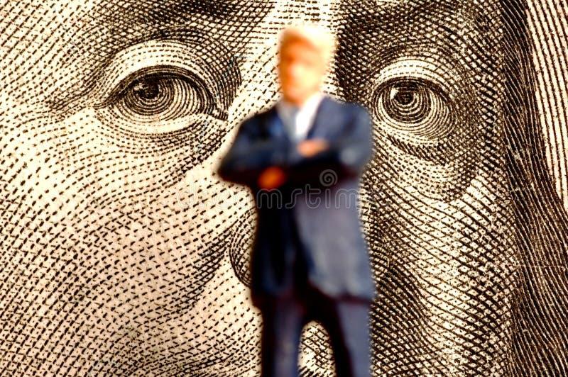 Pouvoir financier image stock